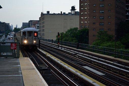 Nova Iorque, Metrô, Trem, 1 Ferroviária