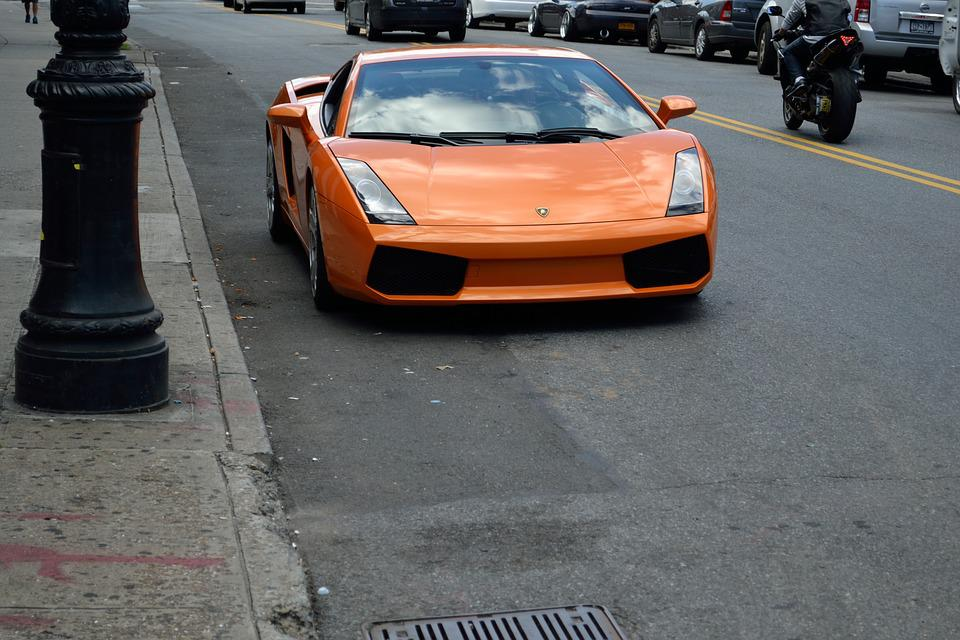 Lamborghini, Fast Cars, Luxury Car, Parked Car