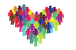 inclusion, group, heart