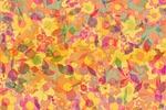 flowers, leaves, autumn