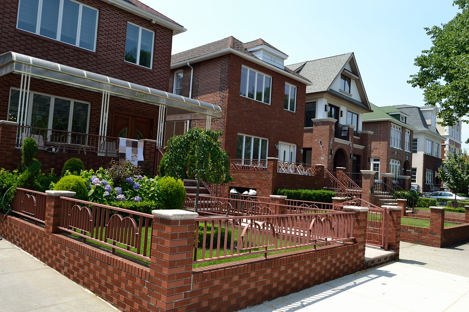 Exceptional Two Family Homes Brick Houses Brick Home Estate