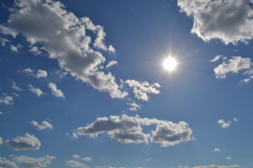 Sky Outdoors Clouds Sun Beautiful Scenery Nature