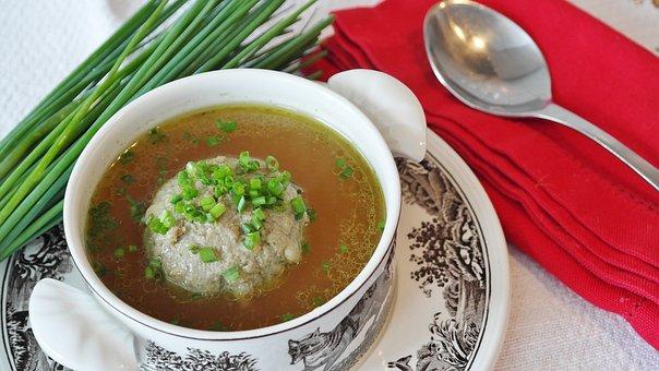スープ, 肝臓の餃子, 肝だんご汁, 団子, 専門, ババリア, 牛肉, 肉