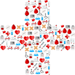 cross, first aid, medical