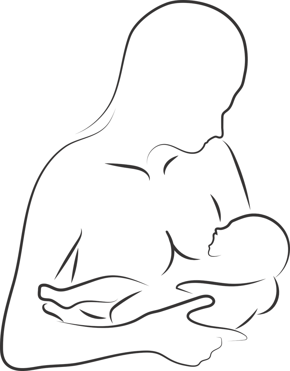 Breastfeeding Mother And Child - Free vector graphic on Pixabay