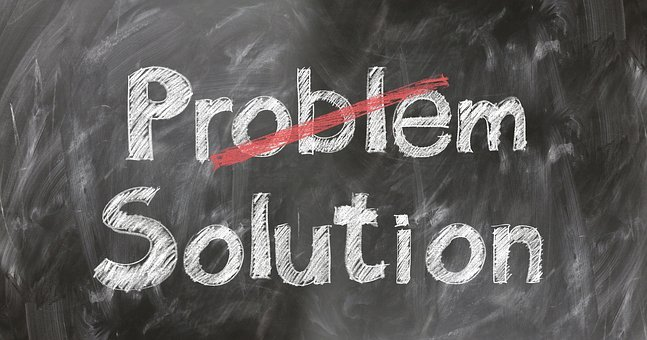 Problem, Solution, Help, Support