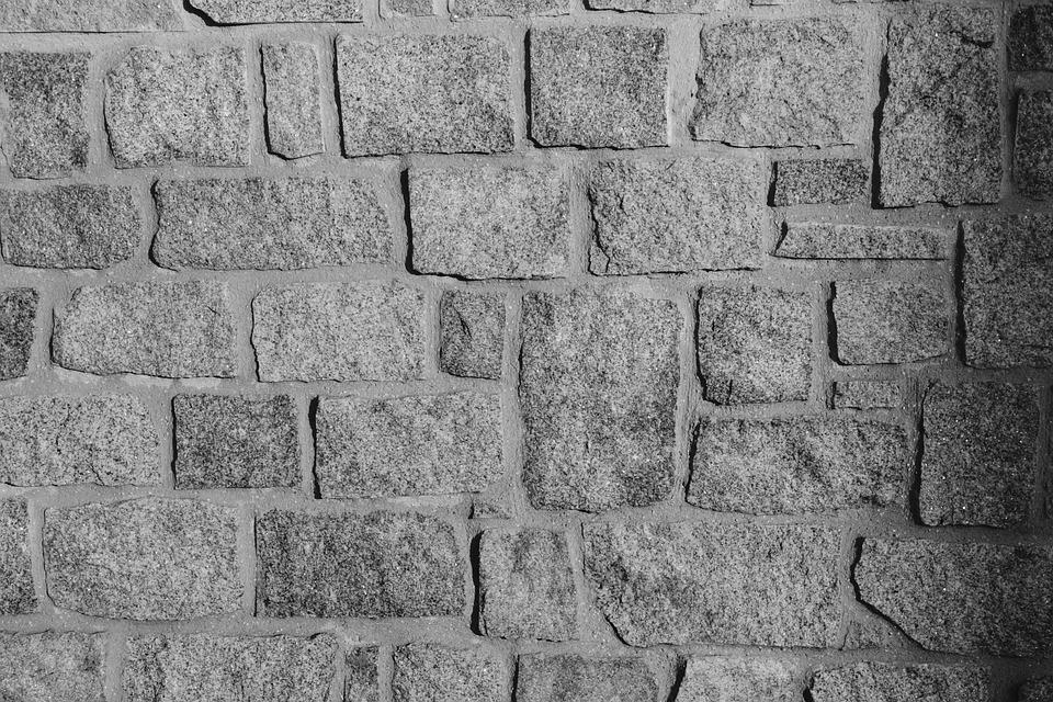 Stenen Muur Wit : Muur foto zwart wit stenen · gratis foto op pixabay