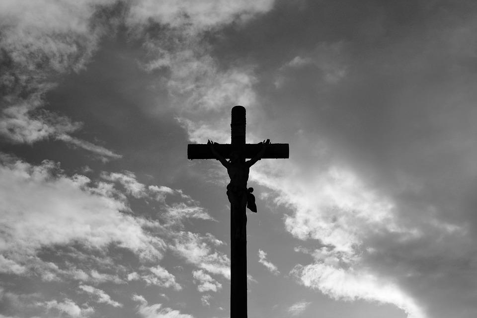 Cruz Jesús Cristo Foto Blanco Y Foto Gratis En Pixabay