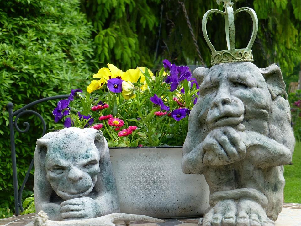 Steinfiguren Gnome Kostenloses Foto Auf Pixabay