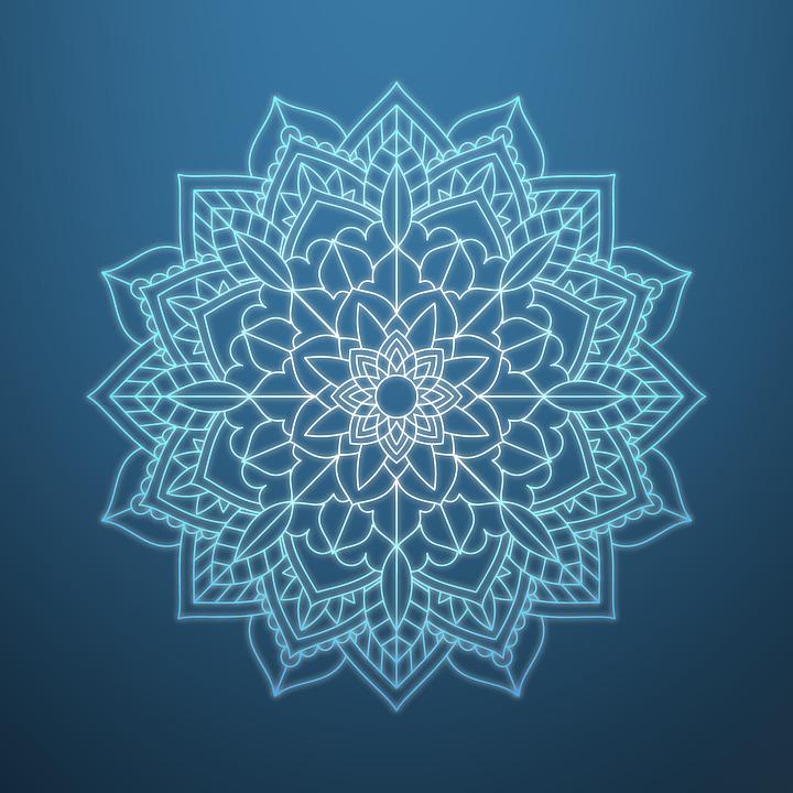Mandala Florales Patron Pintura Al Imagen Gratis En Pixabay - Pinturas-de-mandalas