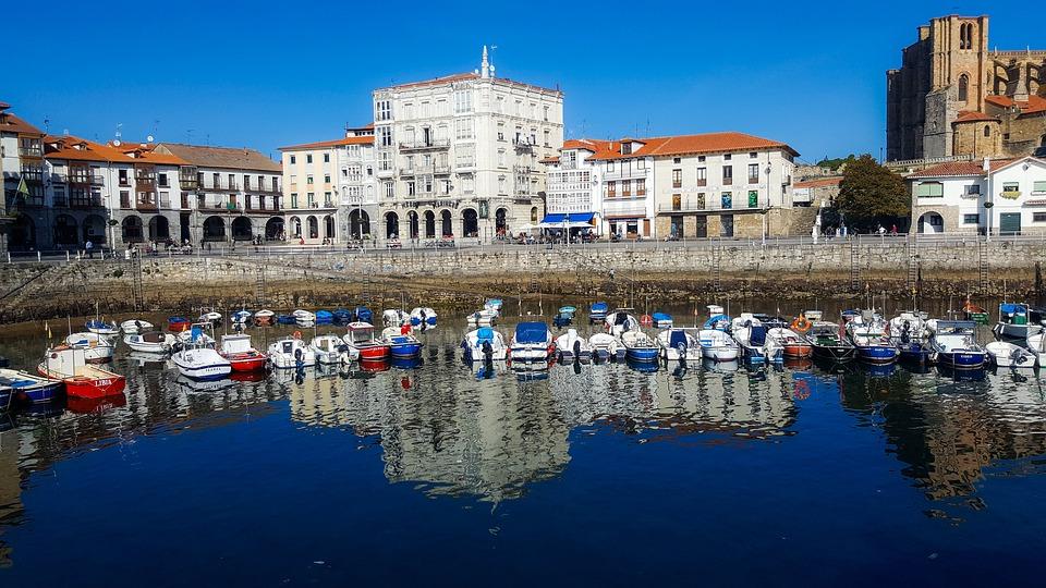 Castro Urdiales, Cantabria, Spain, Castro, Urdiales
