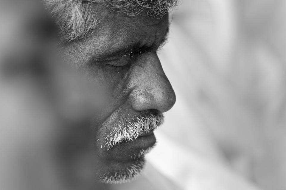 Portrait, L'Homme, Vieux, Vieil Homme, Senior, Personne