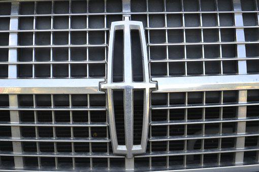 Lincoln Mkz, Grill, Car, Front, Metal