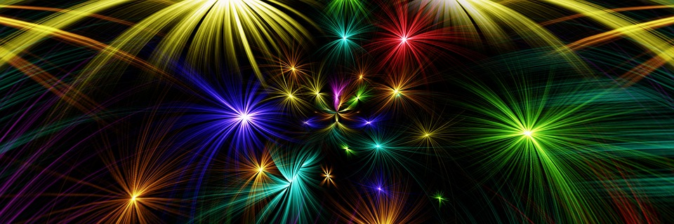 Star Abstract Colorful  C2 B7 Free Photo