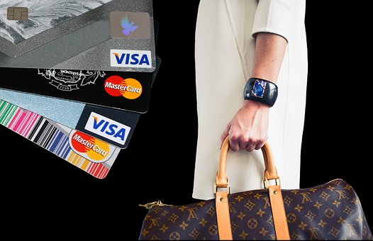 Shopping, Credit Card, Purchasing, Pay