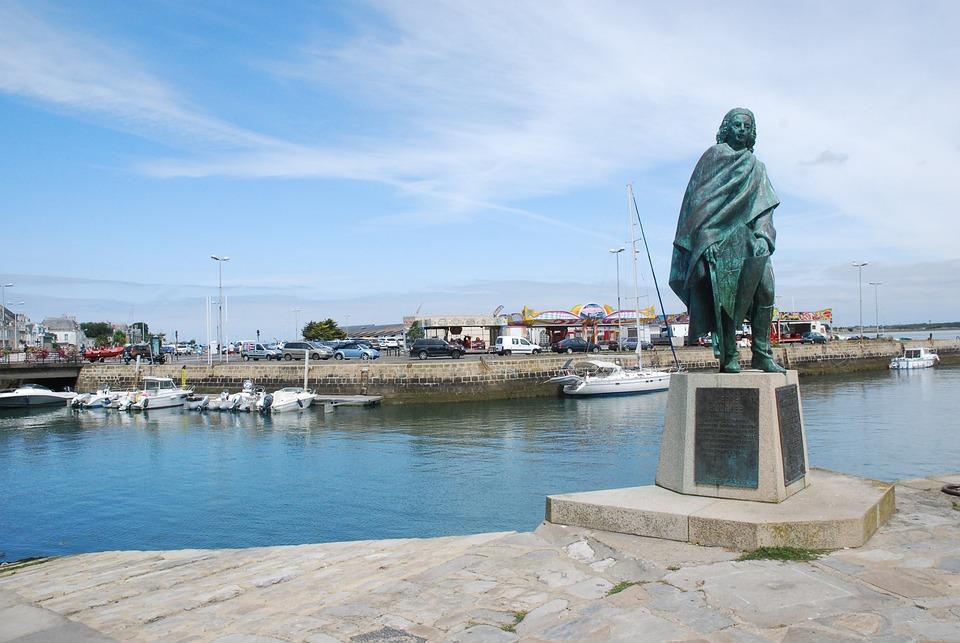 Statue, Port, Le Croisic