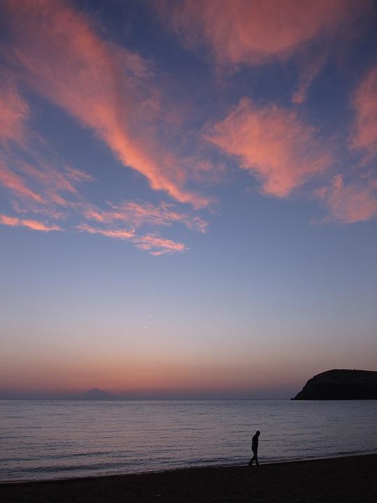 5400 Gambar Pemandangan Laut Senja Gratis Terbaru
