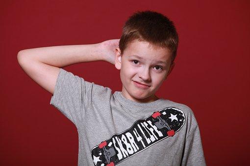 少年, ティーン, 男子生徒, 考えるようになった, 質問, 明確ではない