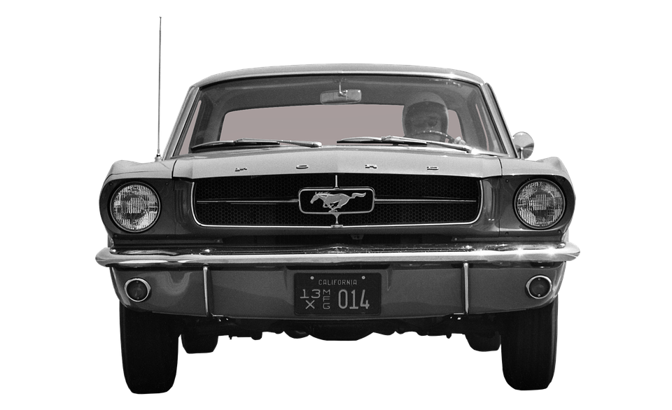 Ford Mustang Front Free Photo On Pixabay
