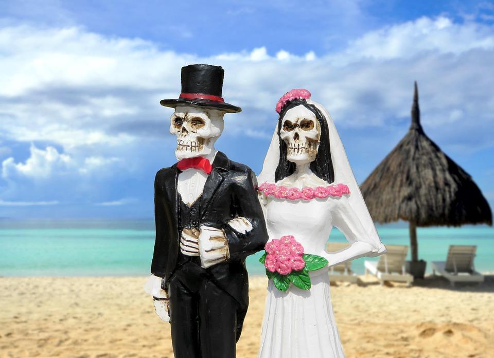 Free photo Bride Groom Skeleton Beach Free Image on Pixabay