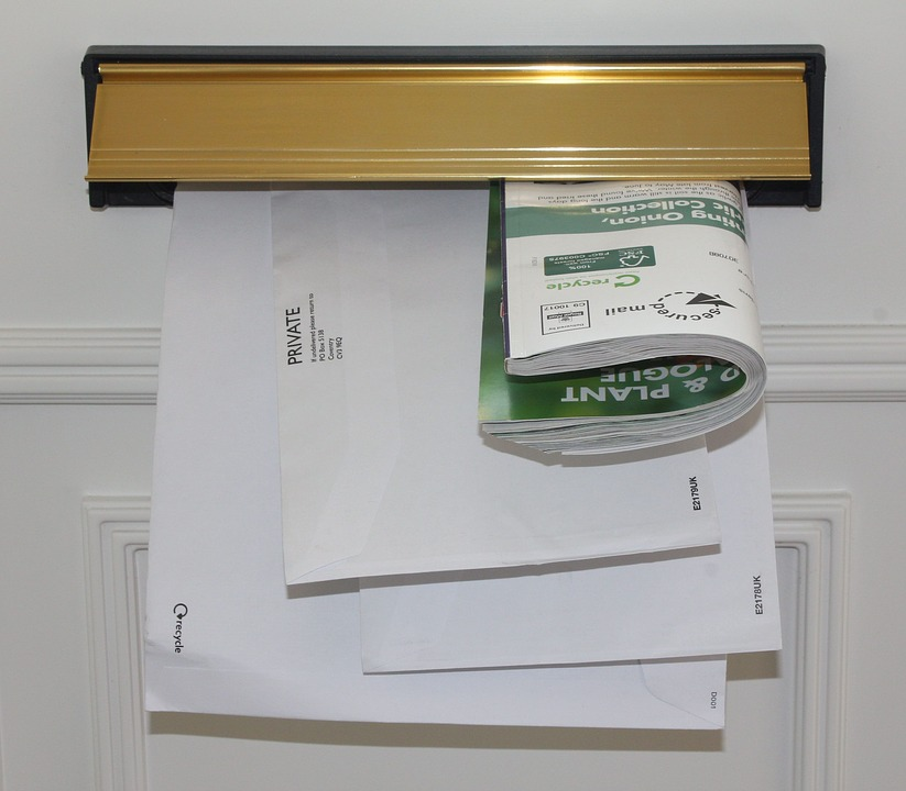 door letterbox mail communication post delivery & Door Letterbox Mail · Free photo on Pixabay
