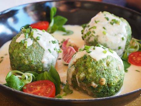 Spinach Dumplings, Dumpling