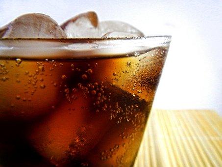 ソフトド リンク, ソーダ, コカ ・ コーラ, ドリンク, バー, 爽やか
