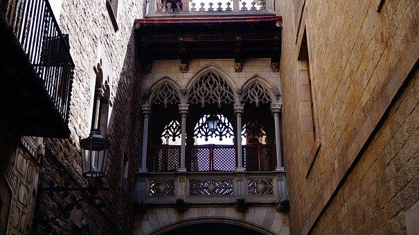Vista Barrio Gótico Barcelona
