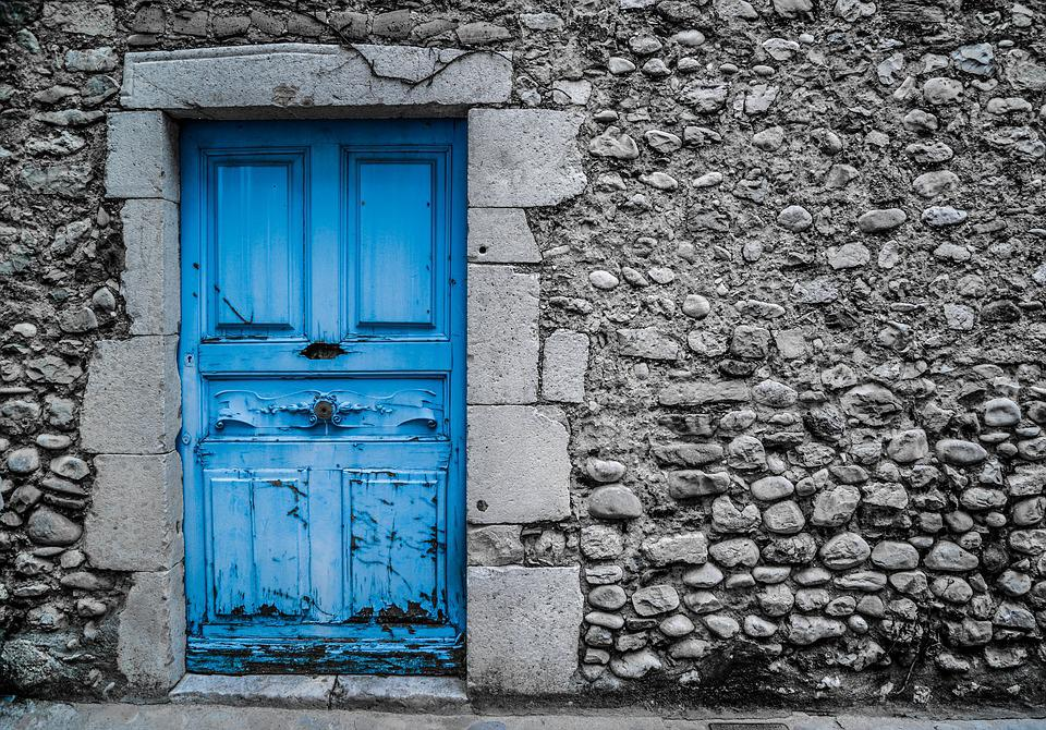 Blue Door Old Vintage Paint Street Architecture & Free photo: Blue Door Old Vintage Paint - Free Image on Pixabay ...