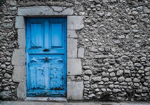 Blue Door Old Vintage Paint Street & Door - Free pictures on Pixabay pezcame.com