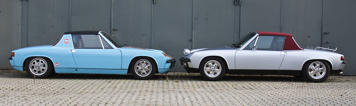 Reflect, Porsche, 914, Frontal