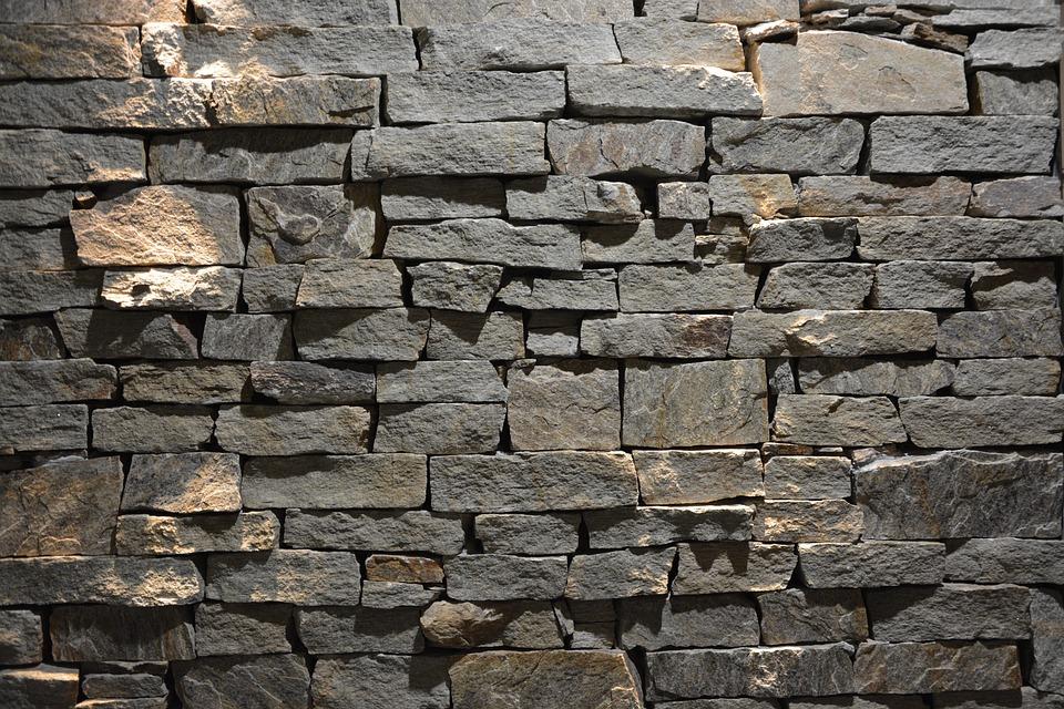 Free photo: Wall Stacked Stone, Decoration - Free Image on Pixabay ...