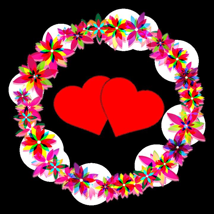 Flores Corazones Amor Imagen Gratis En Pixabay