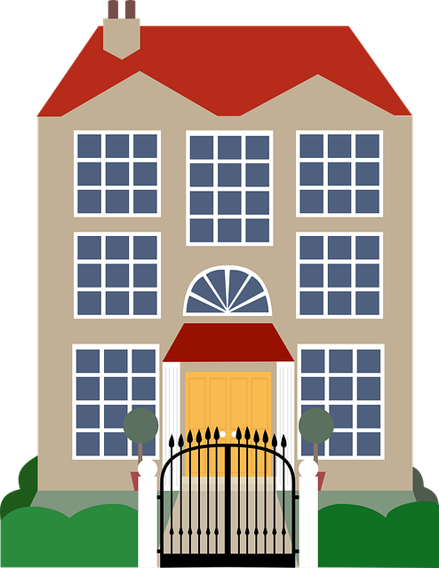 Mansion Drawing: House Clip Art · Free Vector Graphic On Pixabay