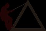 mountain, climbing, symbol