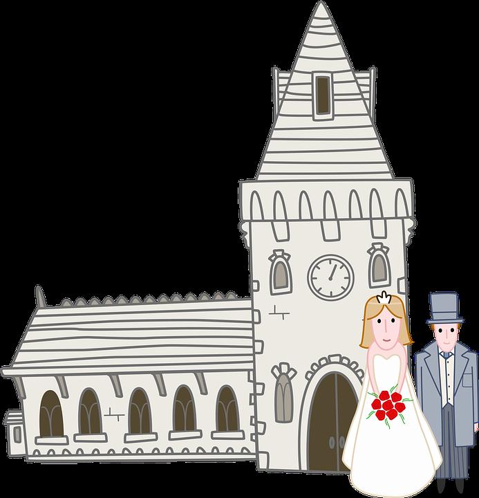 Kirche Hochzeit Braut Kostenloses Bild Auf Pixabay