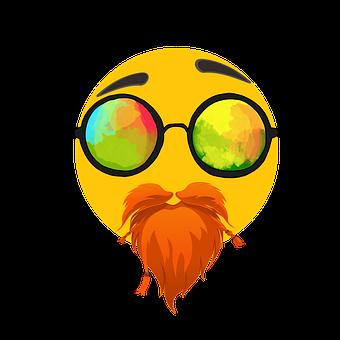 Emoji, Yüz, Duygular, Güneş Gözlüğü
