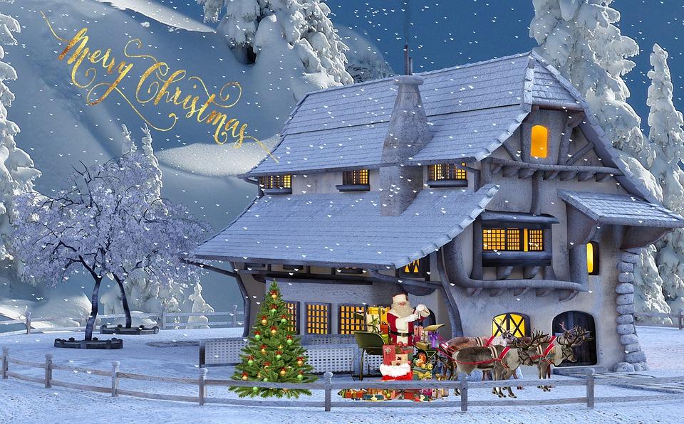 Jul julkort parti gratis foto p pixabay - Digitale weihnachtskarten kostenlos ...