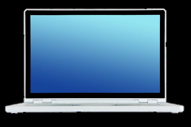 Laptop Notebook Front · Free Photo On Pixabay
