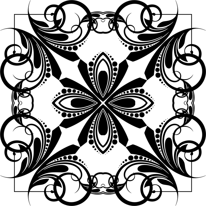 74 Gambar Motif Geometris Abstrak HD