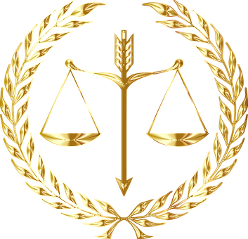 Justice, Scales, Law, Seal, Emblem