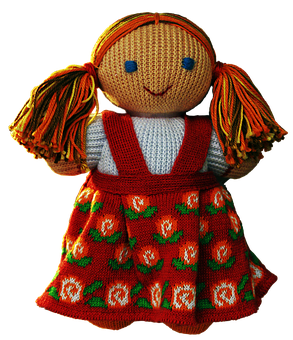 Doll, Cloth Figure, Costume, Folklore