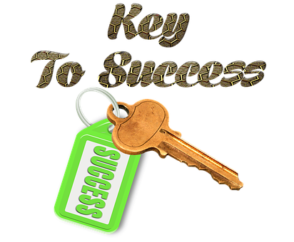 Key, Successful, Hanger, Design