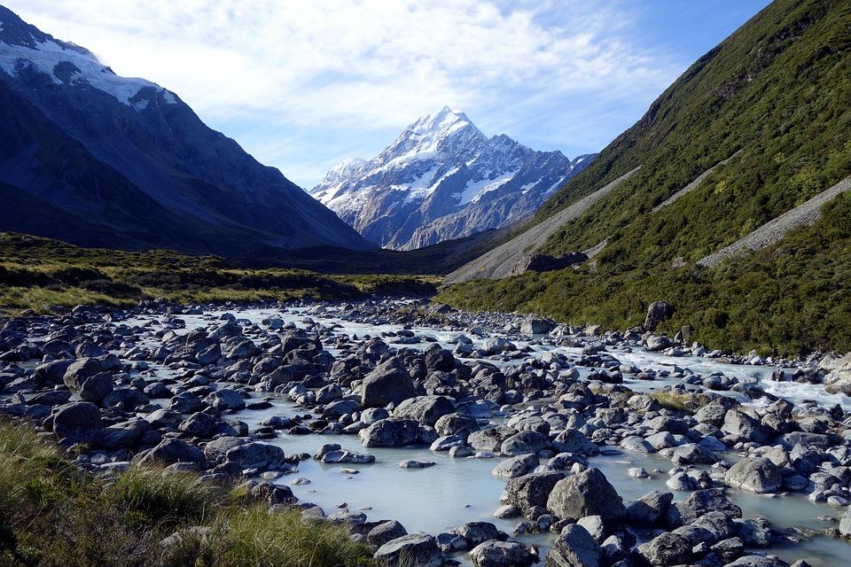 Natur Nya Zeeland Mt Gratis Foto Pa Pixabay