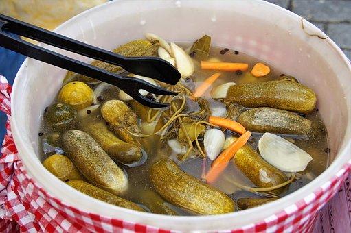 Cucumbers, Rychlokvašky, Sour Pickles