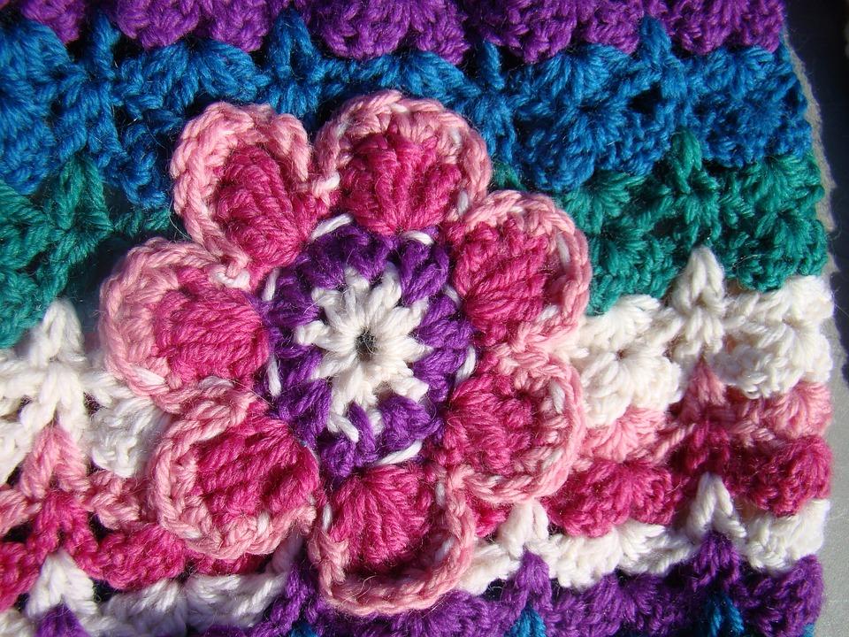 Häkeln Handwerk Blume · Kostenloses Foto auf Pixabay
