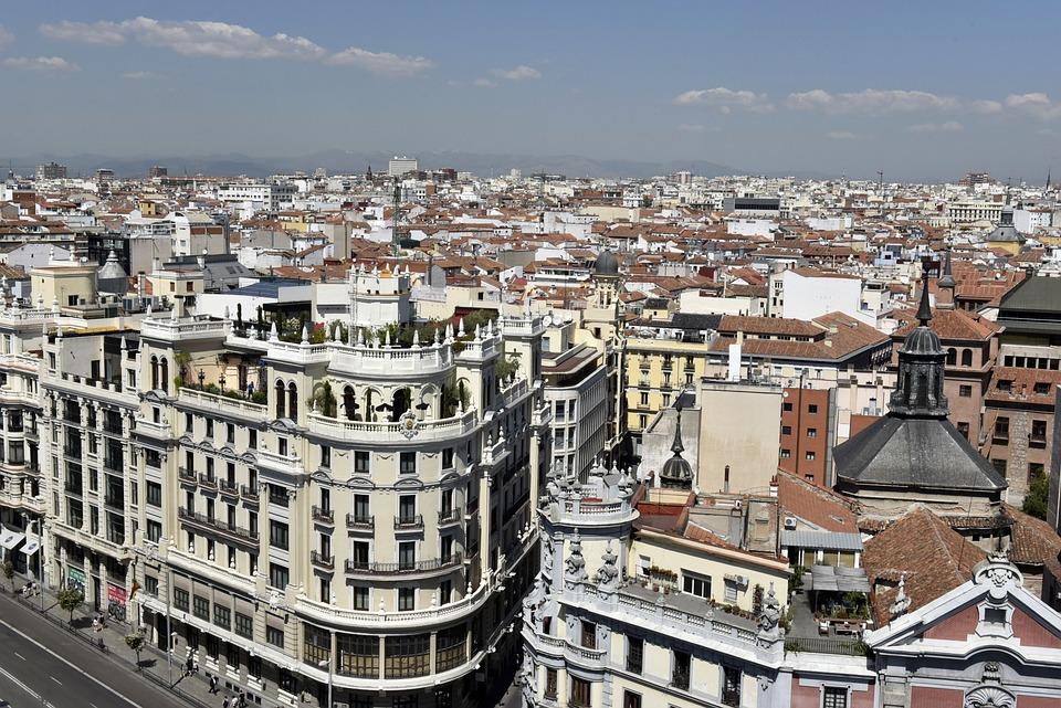 Ciudad De Madrid Vista Aérea Zona - Foto gratis en Pixabay