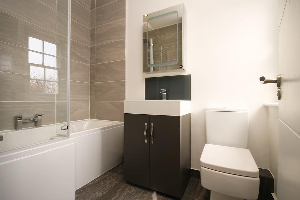 Free photo bathroom modern modern bathroom free image - Banos chicos ...