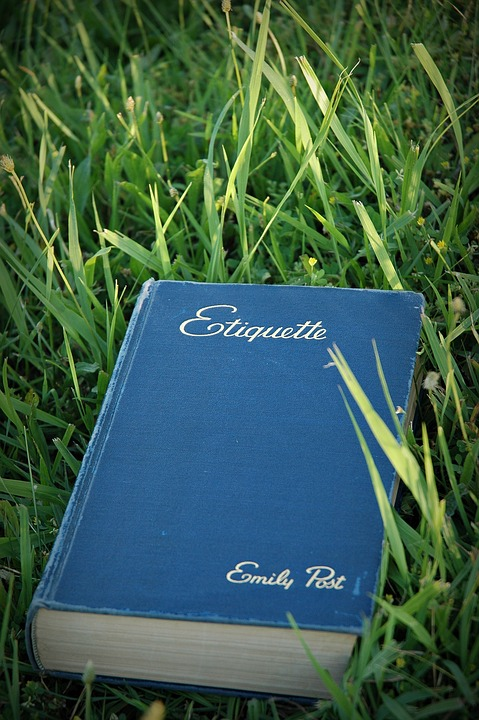 books on etiquette and manners