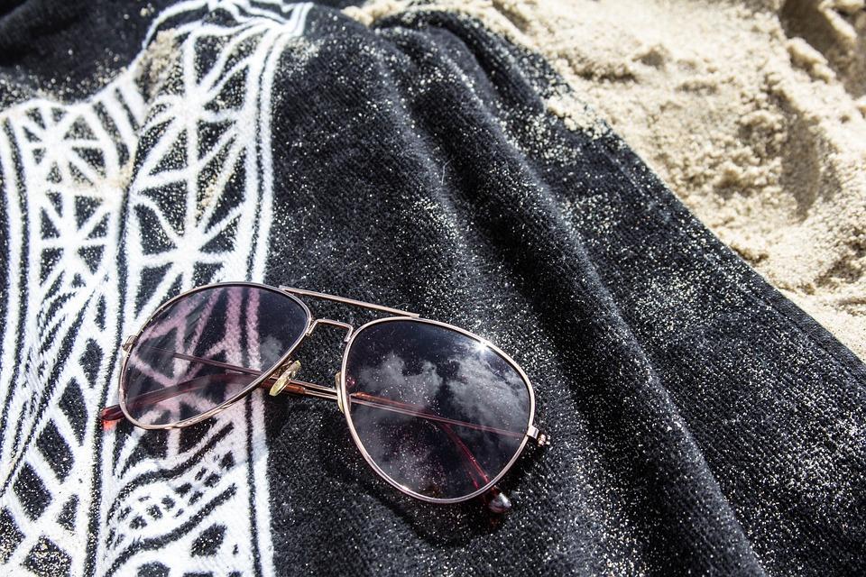 7e50be9d354c Strand Solbriller Håndklæde - Gratis foto på Pixabay